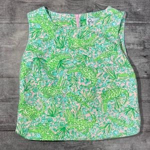 Vintage Lilly Pulitzer sleeveless top
